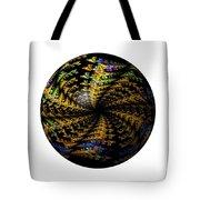 Abstract Globe Tote Bag