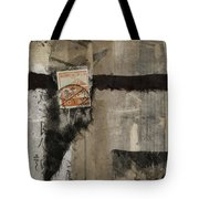 Abstract Japanese Collage Tote Bag