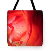 Abstract Orange Rose 10 Tote Bag