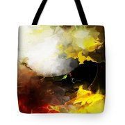 Abstract Under Glass Tote Bag