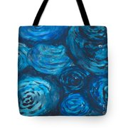 Abstract Watercolour Painting Tote Bag