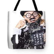 Accountant Crying Number Tears Tote Bag