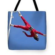 Acrobatic Performance Tote Bag