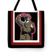 Adolf Hitler Saluting 2 Circa 1933-2009 Tote Bag