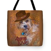 Adopted With Love Tote Bag