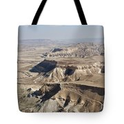 1-aerial Photography Of The Negev  Tote Bag