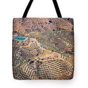 Aerial View Of Andalusia. Spain Tote Bag