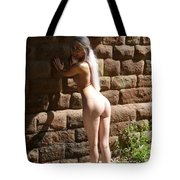 Against A Wall Tote Bag