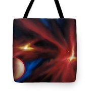 Agamnenon Nebula Tote Bag