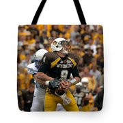 Air Force Versus Wyoming Tote Bag