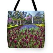 Alcazar Garden Vibrant Color Display Balboa Park  Tote Bag