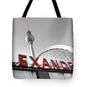 Alexander Platz - Berlin Tote Bag