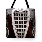 Alfa Romeo Milano Grille Emblem Tote Bag