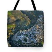 Alhama De Granada From The Air Tote Bag