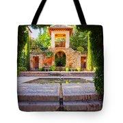 Alhambra In Granada Tote Bag