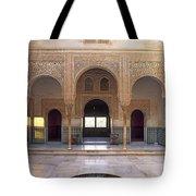 Alhambra Palace Patio Del Cuarto Dorado Tote Bag