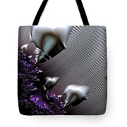 Alien Arrival Tote Bag by Bill Owen