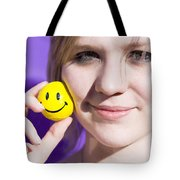 All Smiling Woman Tote Bag