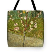 Almond Tree In Blossom Tote Bag