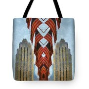 American Architecture Tote Bag