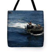 Amphibious Assault Vehicles Transit Tote Bag