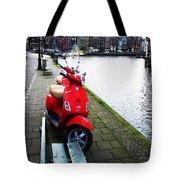 Amsterdam Landscape Tote Bag