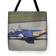 An Alpha Jet Of The Portuguese Air Tote Bag