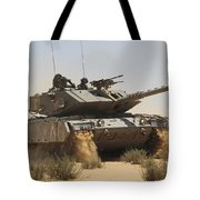 An Israel Defense Force Magach 7 Main Tote Bag