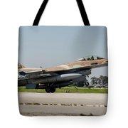An Israeli Air Force F-16c Tote Bag