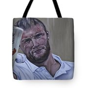 Andrew Flintoff Tote Bag