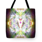 Angel Of Positive Thoughts Tote Bag