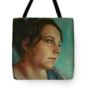 Anja Daydreaming Tote Bag
