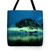 Antarctic Fiord Tote Bag