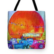 Antique Cars At The Julep Tote Bag