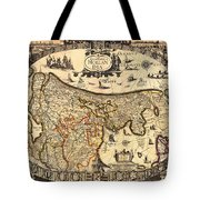 Antique Map Of Holland 1630 Tote Bag