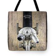 Antique Microscope Tote Bag