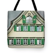 Appenzell Switzerland's Famous Windows Tote Bag