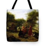 Apple Gathering Tote Bag