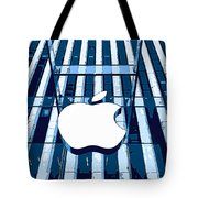 Apple In The Big Apple Tote Bag