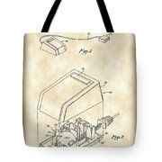 Apple Mouse Patent 1984 - Vintage Tote Bag