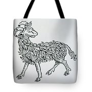 Aries An Illustration From The Poeticon Tote Bag