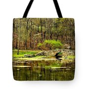 Arkansas Tranquility Tote Bag by Benjamin Yeager