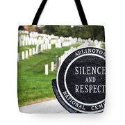 Arlington National Cemetery Part 1 Tote Bag