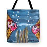 Art Fish Tote Bag