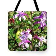 Art In The Garden II Tote Bag