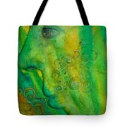 As He Walks He Breathes In The Trees Tote Bag