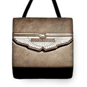 Aston Martin Emblem Tote Bag