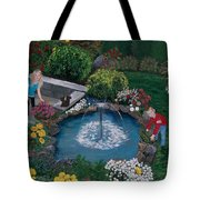 At The Pond Tote Bag