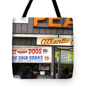 Atlantic City New Jersey - Boardwalk Tote Bag