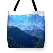 Atlas Mountains 13 Tote Bag